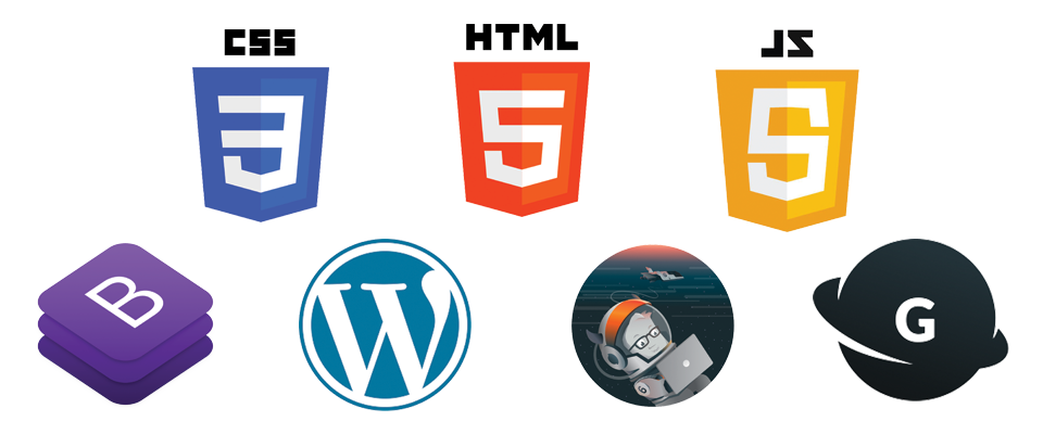 Web development platforms we use.